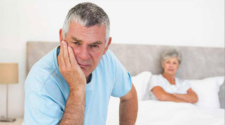 نقش سن در اختلال نعوظ