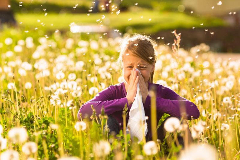 آلرژی بهاره و دلایل و درمان آن چیست؟