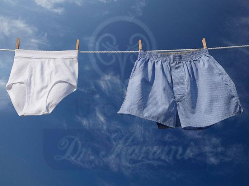 تحقیقات درباره لباس زیر مردانه چه می گویند ؟